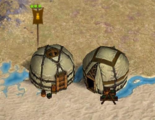Campamento mongol